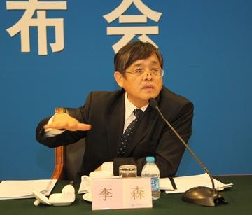 李森部长针对2012年首都高校科学道德和学风建设宣讲教育报告会进行图片