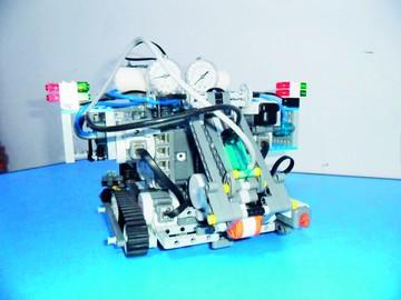 救援机器人设计图展示